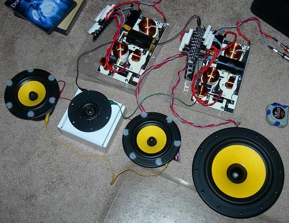 Изготовление кроссоверов для акустики